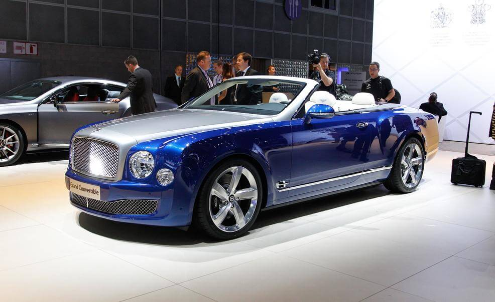 Bentley Grand Convertible Concept 2017 года