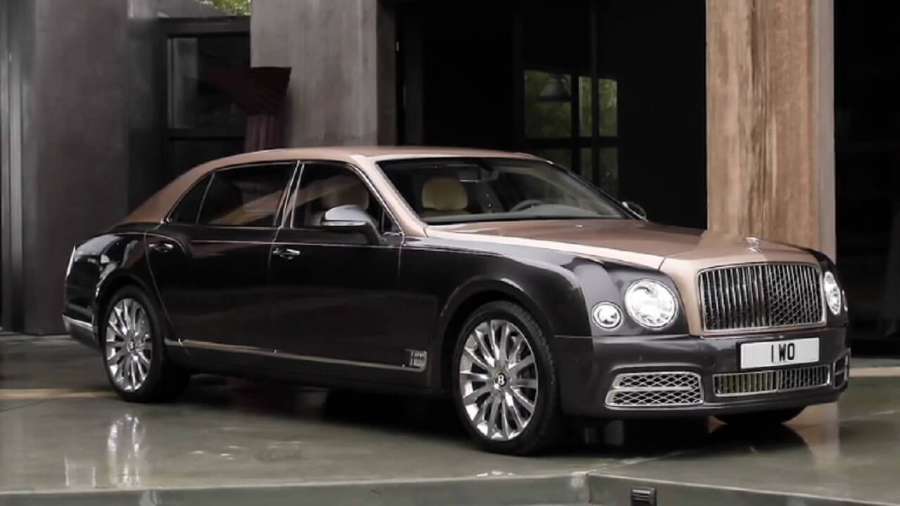 Bentley Mulsanne 2017 года
