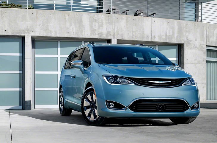 Новый Chrysler Pacifica Hybrid 2017