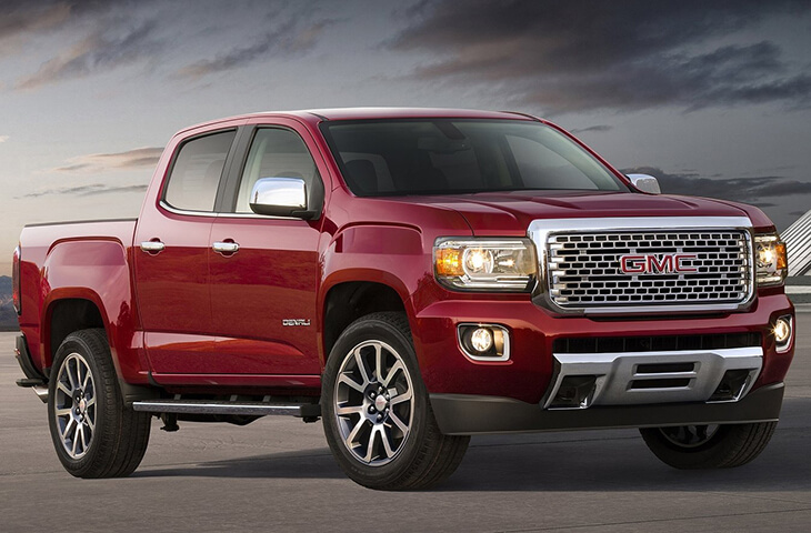 GMC Canyon Denali 2017 года