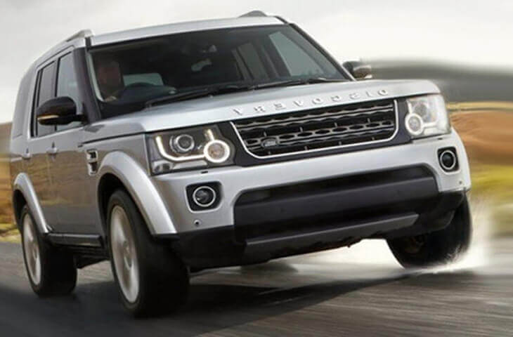 Land Rover Discovery 5 2017 обзор