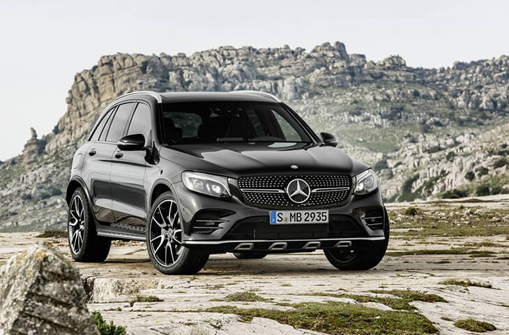 Mercedes-AMG GLC43 4MATIC 2017 фото