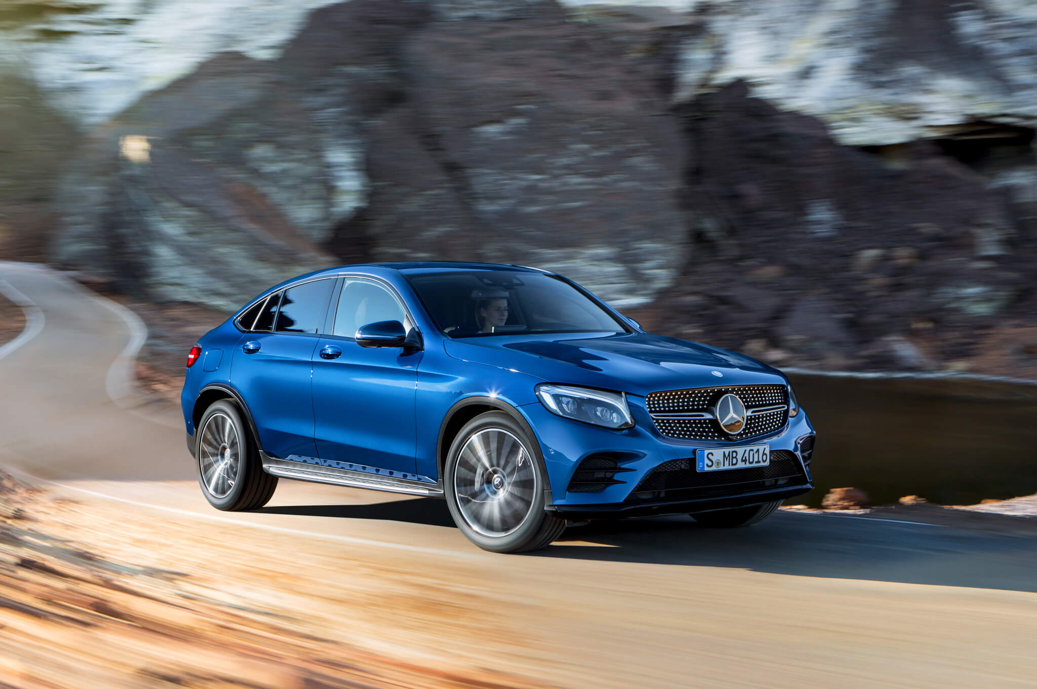 Mercedes-Benz GLC Coupe 2017 года