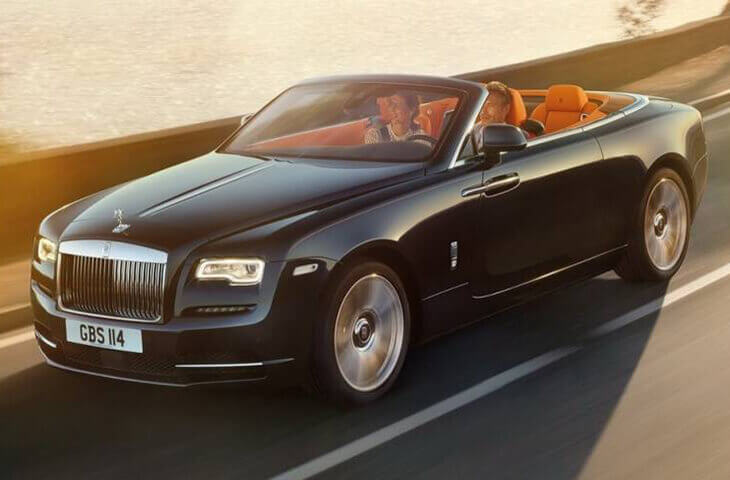 Rolls-Royce Dawn 2017 обзор