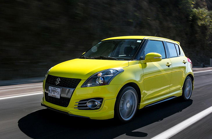 Новый Suzuki Swift 2017 года