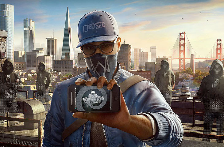 Игра Watch Dogs 2 2017 года